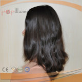 Peluca europea de la piel del cortocircuito del pelo (PPG-l-01891)