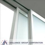 Aluminium die Binnenlandse Deur met Dubbele Aangemaakte Verglazing voor Balkon glijden