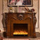 セリウムの公認の彫刻のホーム家具の骨董品LEDの電気暖炉(319B)