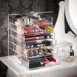 Heißer Verkaufs-vierlagiger freier kosmetischer acrylsauerorganisator