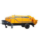 Diesel bomba de entrega de cemento portátil Hbt40-08-56RS