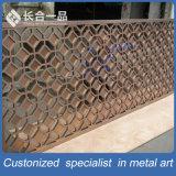 Customized Melhor qualidade de aço inoxidável tela decorativa / Divisor de sala