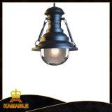 ペンダント灯(KAC711 (クロム染料で染められた、マットの黒)ハングさせる)を良質のマットの黒