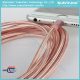 Nylon-Braided Relâmpagos para cabo USB