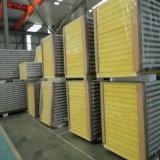 Panel de sándwich de lana de vidrio con aislamiento térmico para materiales de construcción