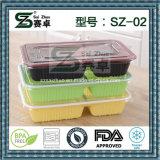 польза еды 2compartment и коробка обеда пластичного материала