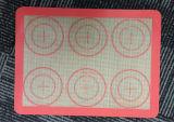 Anti-Slip 실리콘 굽기 매트 붙지 않는 실리콘 직물 굽기 강선