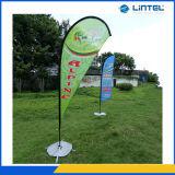 Indicador de la bandera de poste del aluminio y del vidrio de fibra (LT-17C)