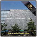 Commissie van de Muur van het Aluminium van de voorzijde de Bekleding Geperforeerde Openlucht Decoratieve