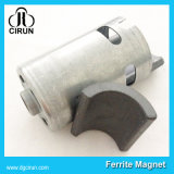 Magnete di ceramica permanente libero del ferrito del motore di figura dell'arco di energia duro