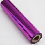 華麗な赤紫のマゼンタ海軍カラー熱い押すホイルの熱伝達ホイルのアルミホイル