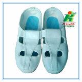 Cleannroomの研修会のためのESDの蝶作業靴(4目)