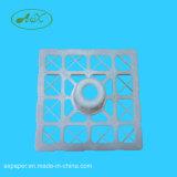 Le support environnemental de tubes de faisceaux de découpage de PE de 3inches 280*280 pour le PVC s'attachent film