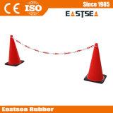 Rote u. Ring-Plastikkette des Weiß-2m für Verkehrs-Kegel