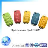 Дистанционное управление сигнала тревоги автомобиля ключа 433MHz Flip Qinuo Qn-Rd389X всеобщее всеобщее