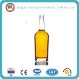 botella de la vodka del vidrio de pedernal de la categoría alimenticia 50ml/375ml/500ml/700ml