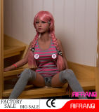 куклы секса силикона кожи 140cm кукла влюбленности реальной черной Lifesize