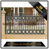 Напольные декоративные алюминиевые орнаменты загородки чугуна металла для украшения сада