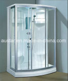 sauna del vapore di rettangolo di 1420mm con l'acquazzone (AT-D8838)