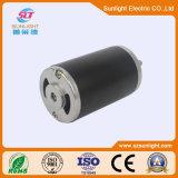 24V 77mm Pincel de DC Motor eléctrico para piezas industriales