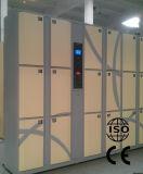 Armario de almacenaje seguro del equipaje del metal de RFID