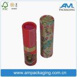 Tubo del papel de impresión Cilindro de té chino Caja de papel Kraft caja de embalaje del té