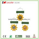 Handgemalte Metallsonnenblume Windchime für Garten-und Baum-Dekoration
