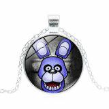 Regalo promozionale cinque notti ai monili Pendant Cosplay di tempo della gemma del metallo della collana del Freddy