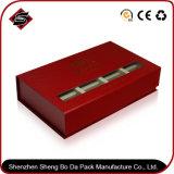Caja de papel cartón piso personalizada con tapa magnética