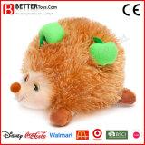 子供のための新しいデザインプラシ天のぬいぐるみのハリネズミのおもちゃ