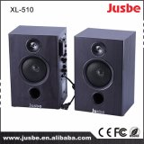Jusbe XL-510 40W / 4ohm Enseignement Home Audio Sound System Monitor 2.0 Haut-parleur avec réveil de microphone sans fil
