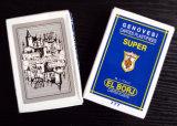40 cartes ont personnalisé des cartes de jeu de tisonnier pour la Libye