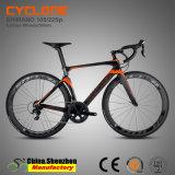 Venda quente bicicleta cheia da estrada da fibra do carbono de 44cm a de 54cm