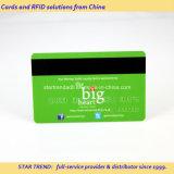 金または銀製の浮彫りになる番号を用いる十分に印刷されたPVCカード