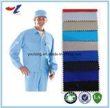 CVC 60/40 de algodão e de poliéster misturam a anti fábrica de estática da tela em China