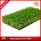 Césped sintetizado de la hierba plástica al aire libre para la decoración del jardín