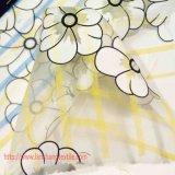 Polyester-Gewebe-Blumen-Jacquardwebstuhl-Gewebe-Garn färbte Gewebe-chemische Faser für Kleid-volles Kleid-Kind-Leistungs-Abnützung-Ausgangsgewebe