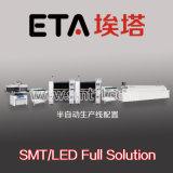 SMT Full Automatic LED Production Line (spaanderoogst en plaatsmachine, solderende printer, terugvloeiingsoven)