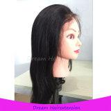 Плотность 150% с париком волос Glueless шнурка волос младенца полным