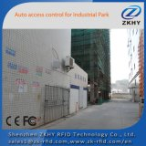 12dBi 30dBm resistente al agua 15m Passvie lector UHF RFID con TCP/IP y luz LED