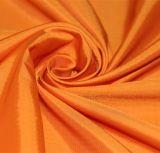 agua de 50d 290t y de la manera de la chaqueta tela catiónica tejida chaqueta Viento-Resistente 100% del filamento del hilado del poliester del telar jacquar de la tela escocesa abajo (X029)