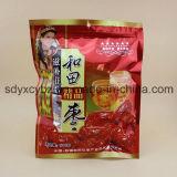 Empaquetado plástico modificado para requisitos particulares talla de los frutos secos sanos del bocado con el Ziplock