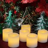 Las ondas de luz de té en la boca sin Flama Velas para Cumpleaños y decoración.