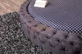 女の子の恋人の普及した、最も安い王クイーンサイズの円形のベッド6823