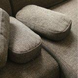 Sofá moderno de tecido de sofá de canto