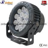 Luz de LED de qualidade 9W Holofote LED RGB no IP65