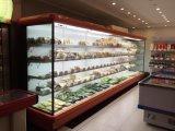 큰 수용량 상업적인 슈퍼마켓 과일 냉장고 진열장