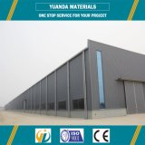 Structure en acier en métal de constructions d'entrepôt de modèle de construction