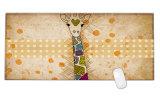 Juego de juegos de dibujos animados la almohadilla de gel de alfombrillas para ratón alfombrilla para ratón bloqueado 900*400*3mm de tamaño XL