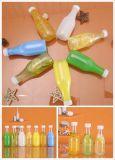 プラスチックびんのための半分の自動吹く型機械